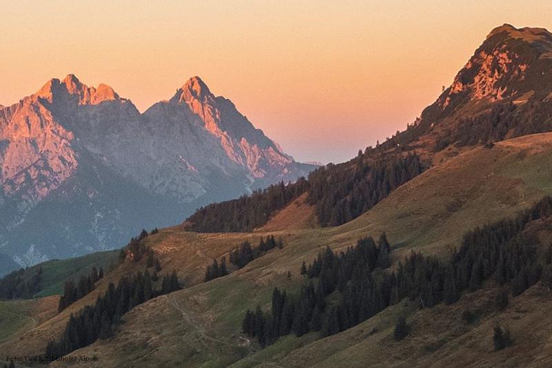 Über 400 km Wanderwege durchqueren die Region