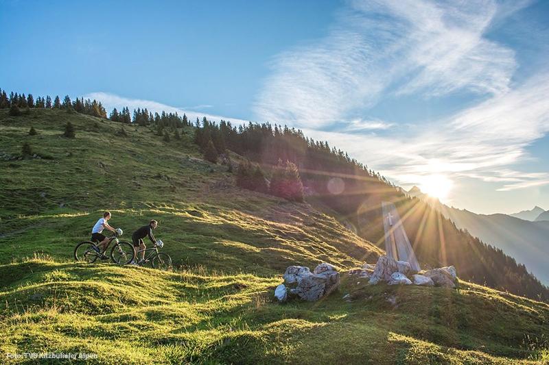 Die Ferienregion bietet für alle Leistungstypen mit dem Bike die passende Route