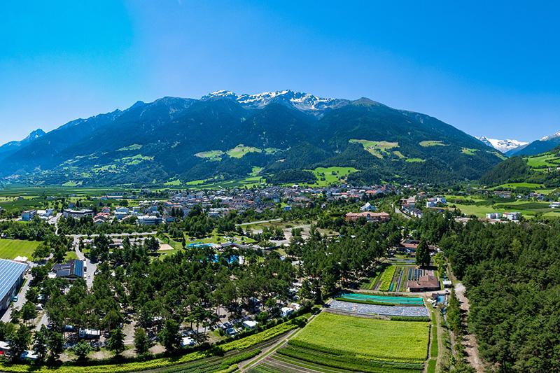Luftaufnahme vom Camping Kiefernhain