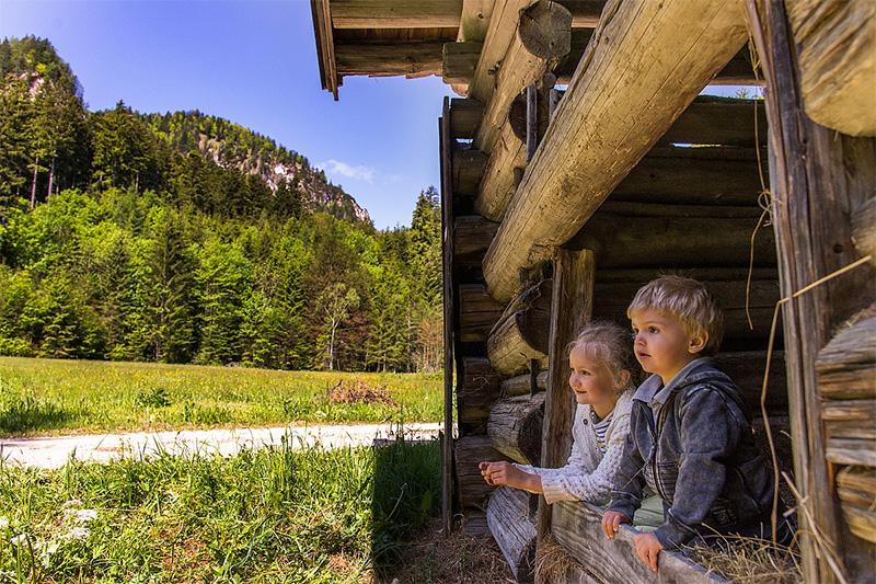 Familienurlaub im Saalachtal
