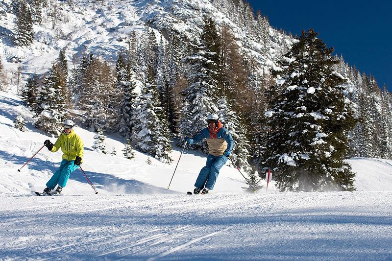 Skigebiet Heutal in Unken