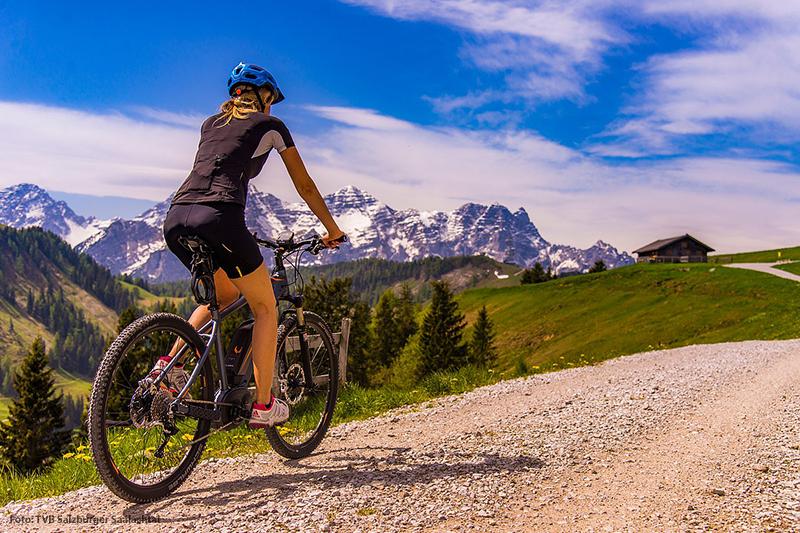Fahrrad fahren im Salzburger Saalachtal