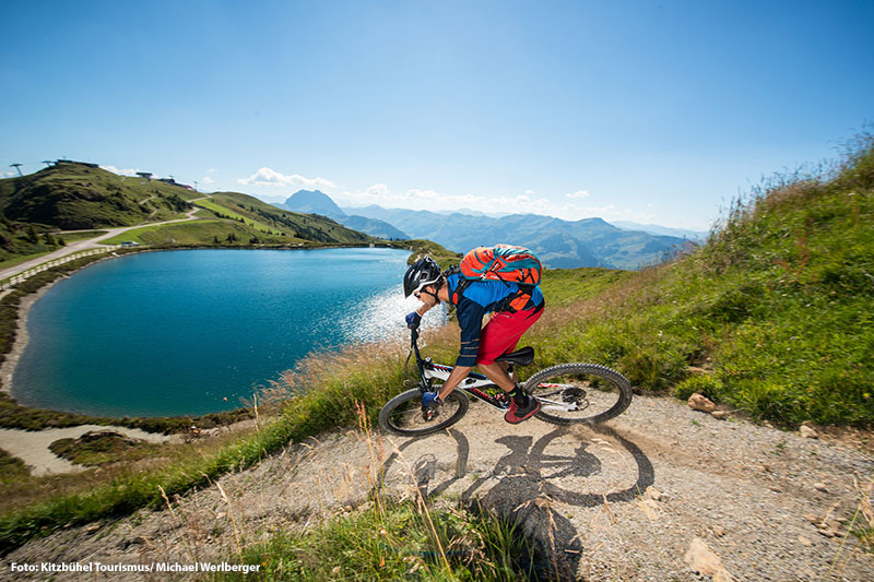 Mountainbiken in Kitzbühel