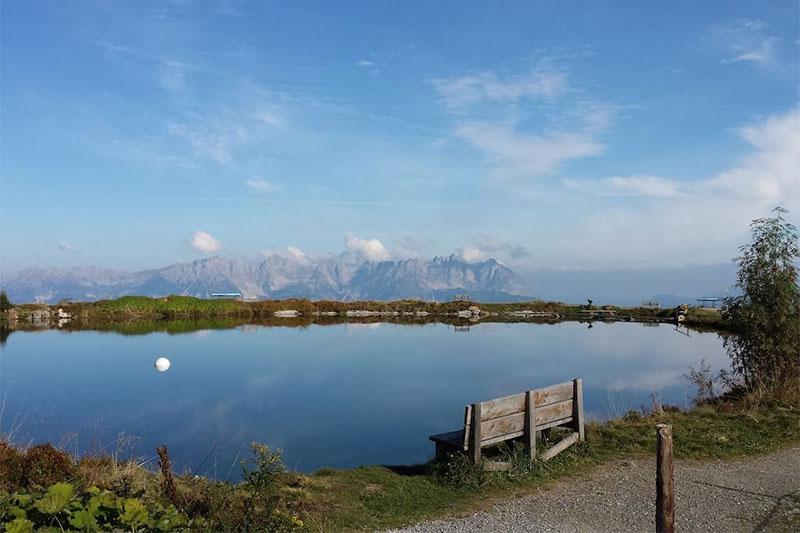 Drei Seen Wanderung in Reith bei Kitzbühel