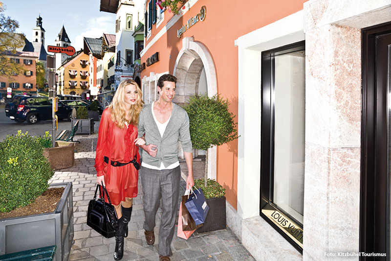 Shoppen in Kitzbühel