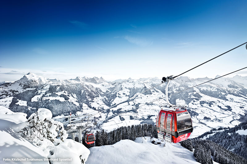 Skigebiet Kirchberg-Pass-Thurn in Tirol