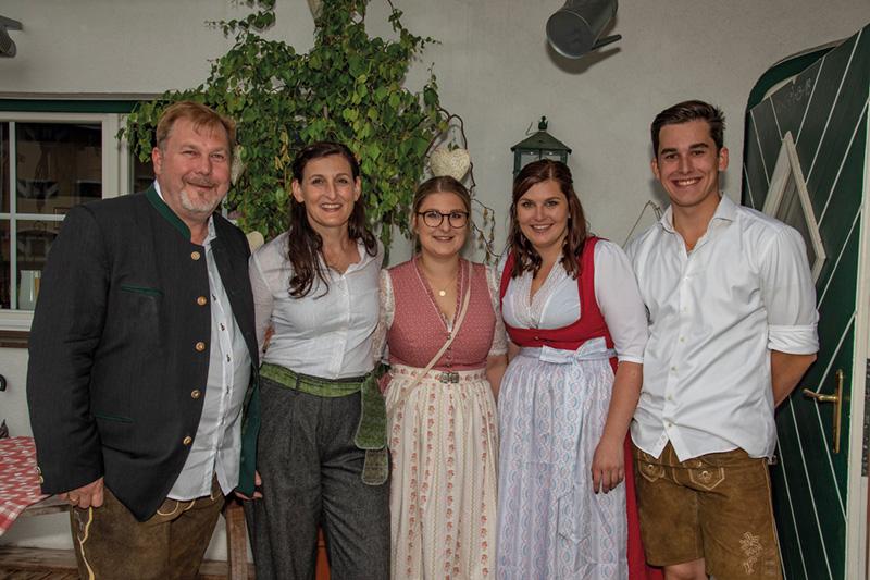 Die Gastgeber-Familie Heim