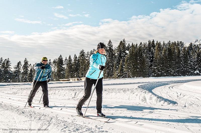 Langlaufen in Oberndorf in Tirol - perfekte Loipen