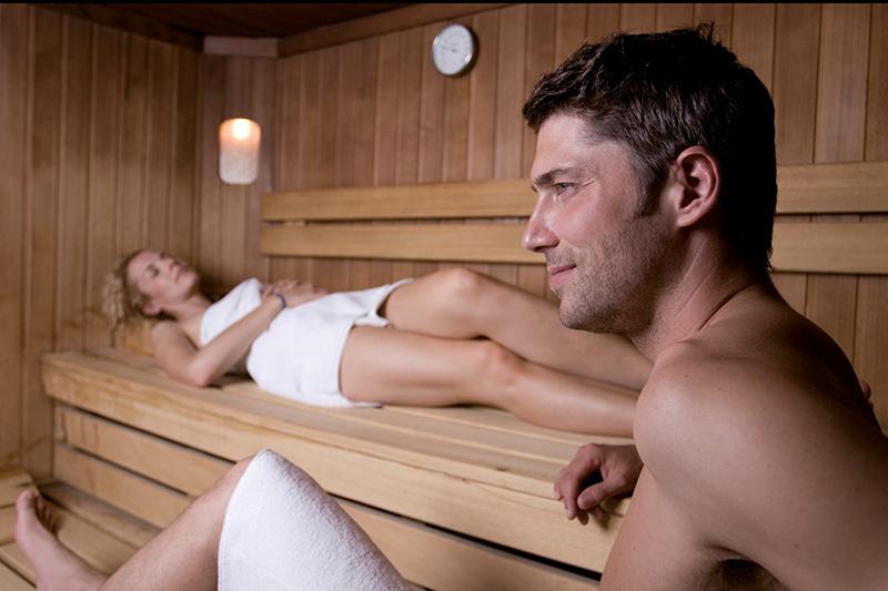 Saunabereich im Hotel