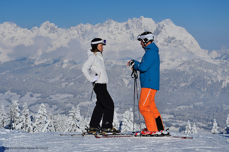 Skifahren in den Kitzbüheler Alpen