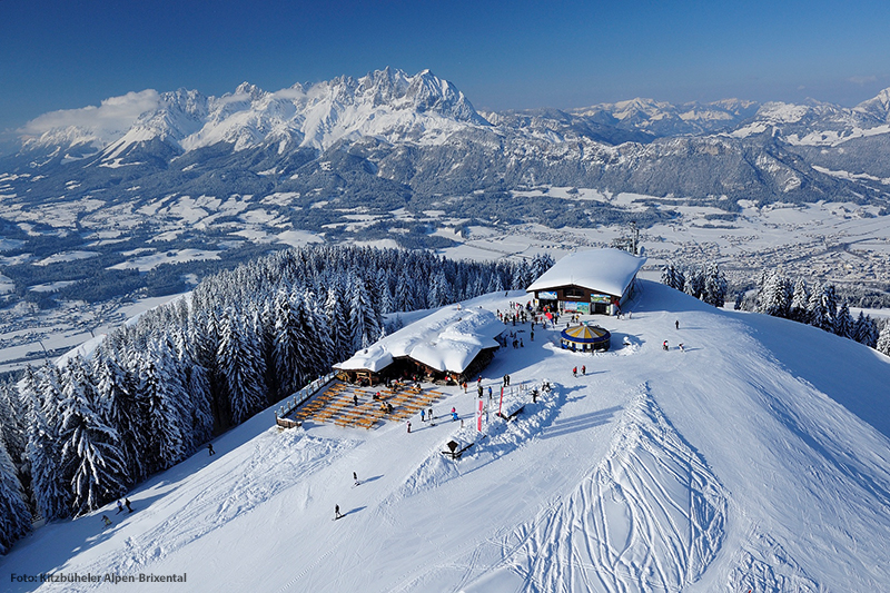 Skigebiet in Oberndorf in Tirol