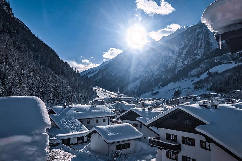Ausblick vom Ferien Resort Lärchenhof