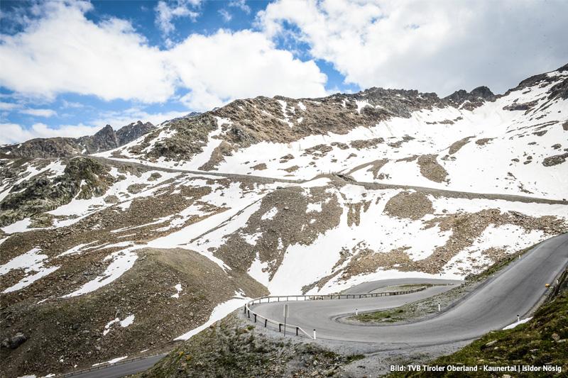 Laerchenhof-Gletscherkaiser-Strassen