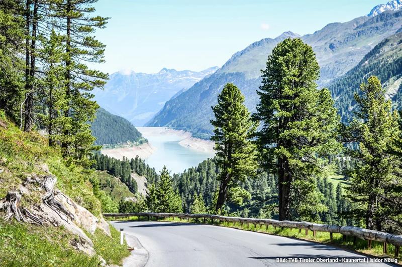 Die Kaunertaler Gletscherpanoramastraße