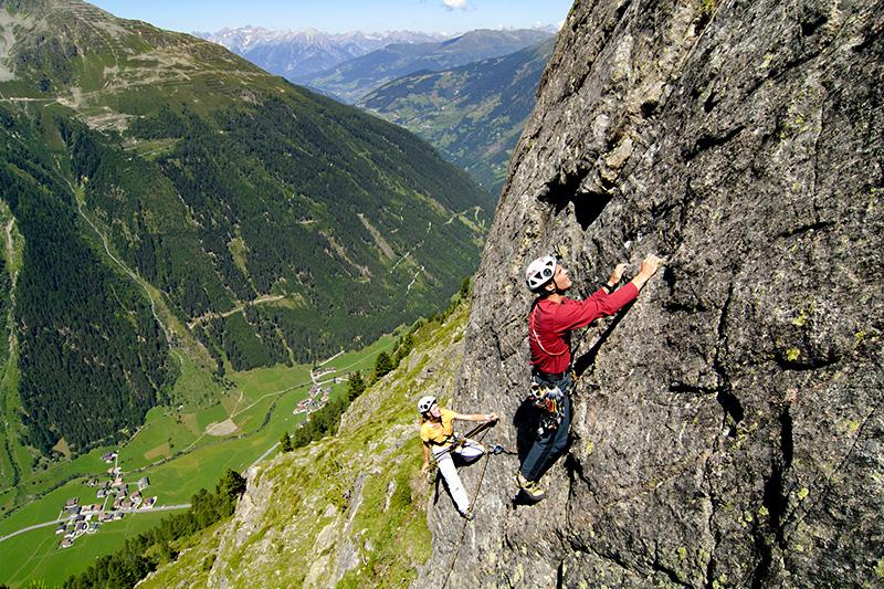Klettern im Tiroler Kaunertal