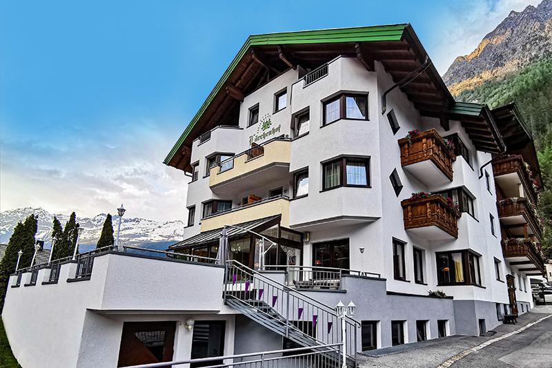 Sommerurlaub im Ferienhotel Lärchenhof im Kaunertal