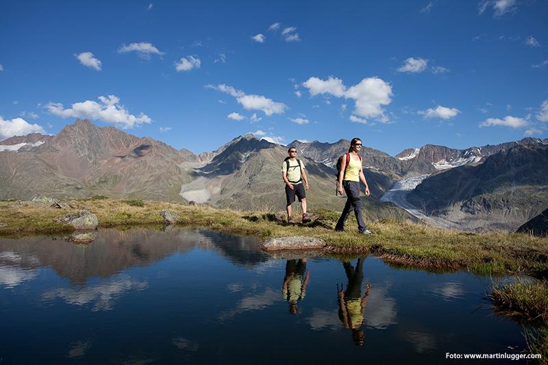 Wandern in der Naturpark- und Gletscherregion