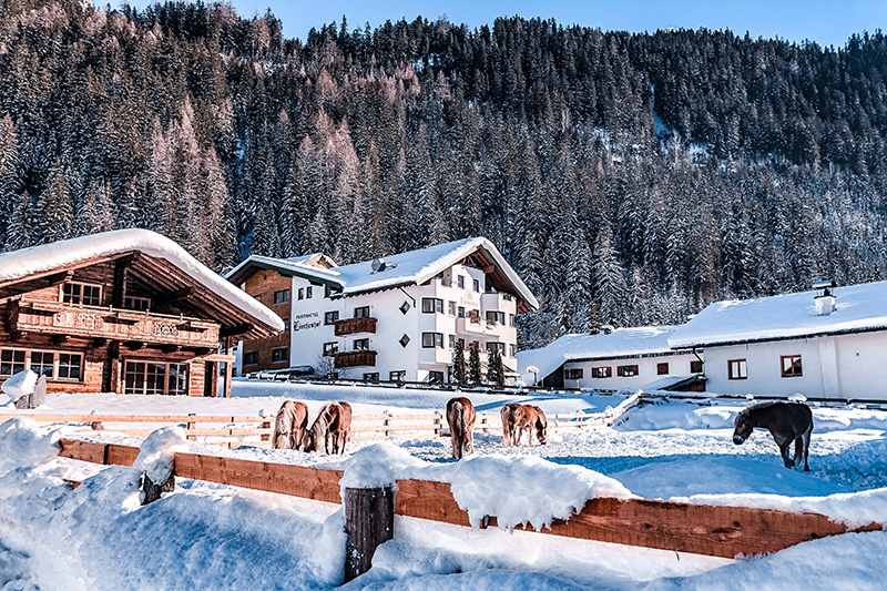 Winterurlaub im Ferienhotel Lärchenhof im Kaunertal