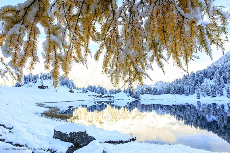 Wintereinbruch im Duisitzkar