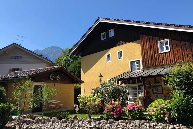 Landhaus Luise Garten Ansicht