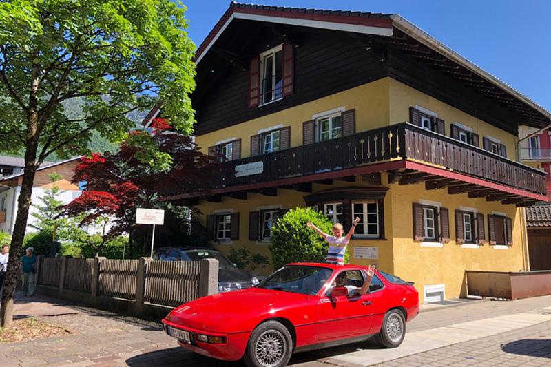 Sommerurlaub im Landhaus Luise in Bad Reichenhall