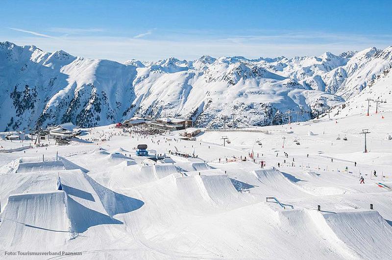 Skigebiet Ischgl Samnaun