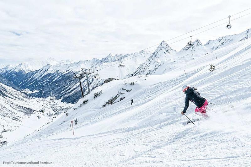 Skigebiet Silvapark Galtür
