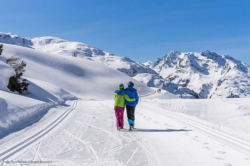Winterwandern in Paznaun