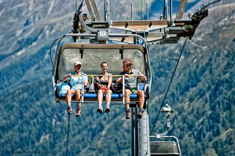 Seilbahnen und Sessellifte in Tirol