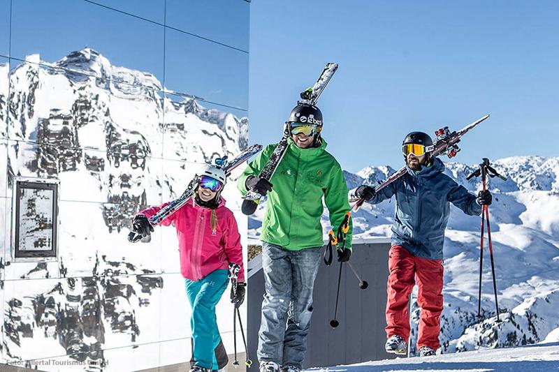 Wintersport im Zillertal