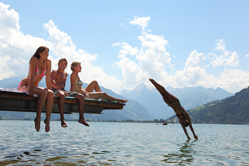 Baden, Segeln und Surfen im Zeller See