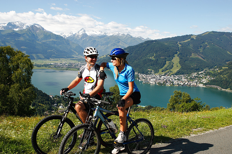Mountainbiken in Zell am See