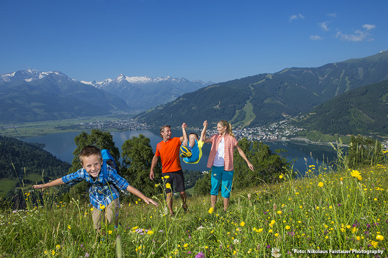 Familienwanderung in Zell am See