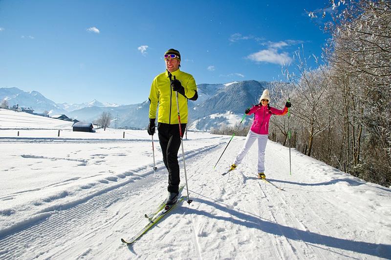 Langlaufen in der Region Maishofen - Saalfelden