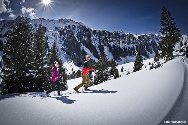 Schneeschuhwandern in Saalbach