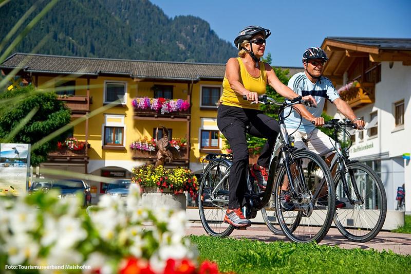 Erkunden Sie die beeindruckende Region Maishofen mit dem Fahrrad