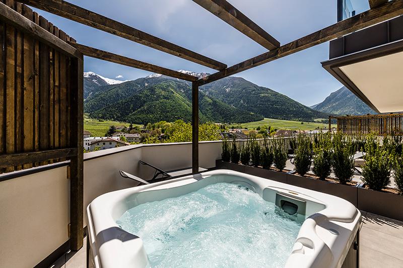 Doppelzimmer Alpen Relax mit Whirlpool