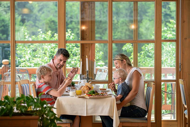 Familienurlaub-Genussurlaub im Landhotel Mauthäusl
