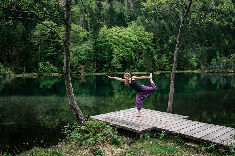 Vielfältige Wellnessangebot und Yoga-Kurse