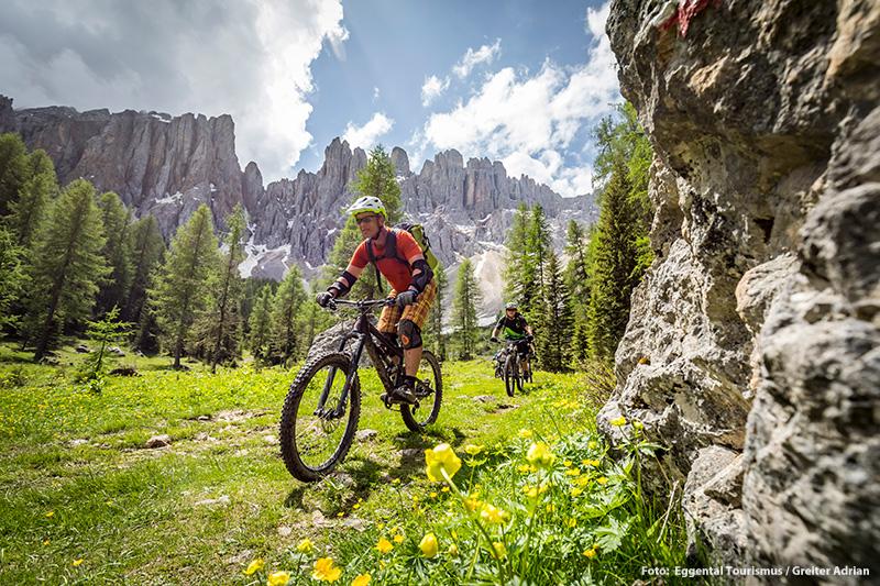 Ideal für Deinen Mountainbikeurlaub: Das (Mountain-)Bikeparadies Eggental
