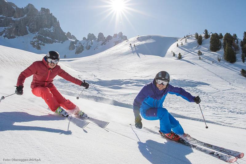 Skifahren Ausblick