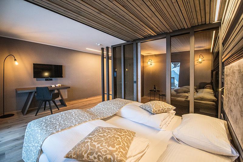 Moderne Zimmer und Suiten
