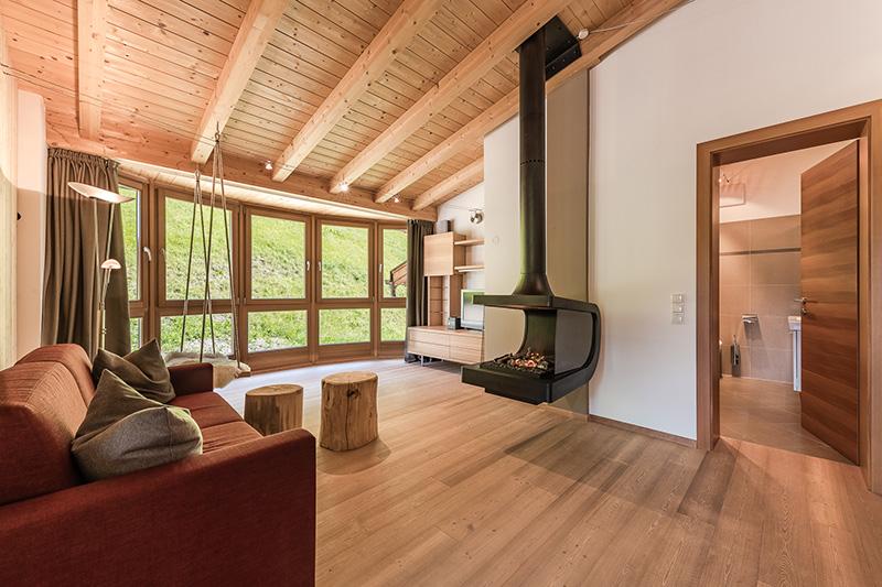 Kuschelsuite 70 m² Wohnbereich