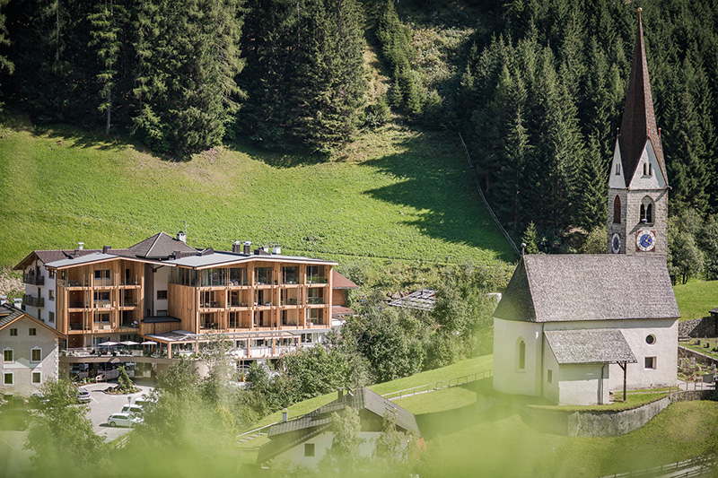 Sommerurlaub im Naturhotel Rainer im Jaufental