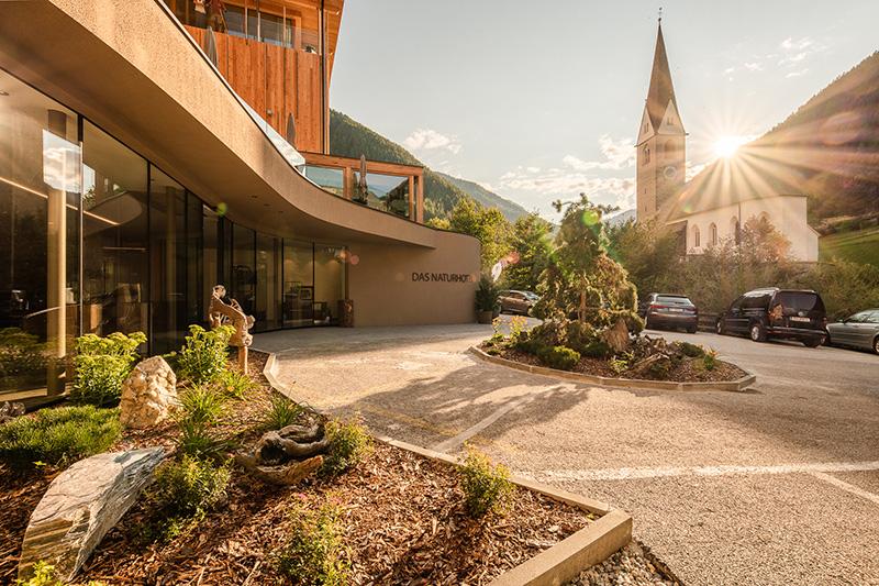 Naturhotel Rainer Eingangsbereich