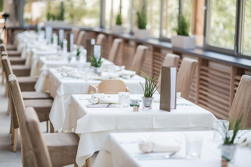 Restaurant im Naturhotel Rainer