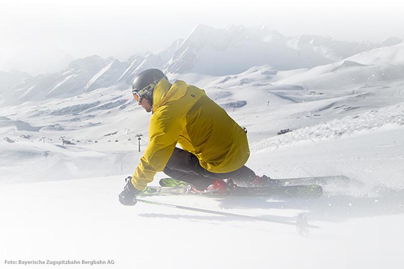 Skifahren im Skigebiet Garmisch-Classic
