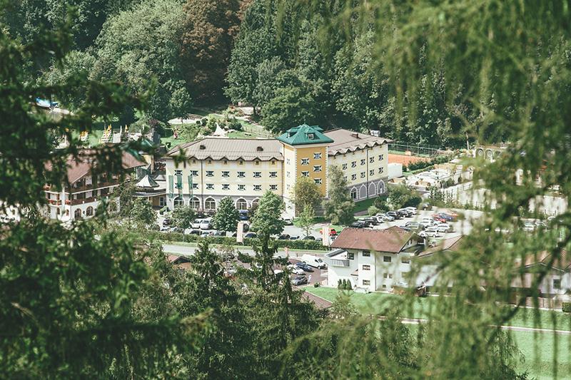 Hotel Ansicht von oben