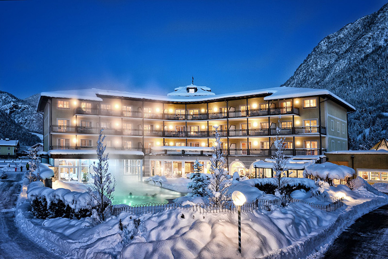 Post Family Resort Hotel im Winter