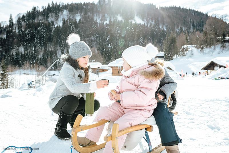 Winterspaß im POST Family Resort